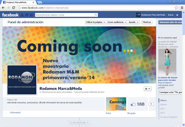 Coming soon… nuevo muestrario Rodamon M&M