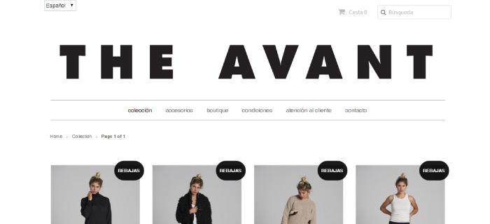 The Avant, nueva web de elegancia mediterránea