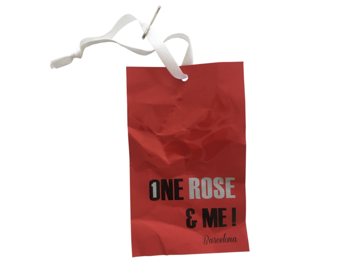 Hangtag One Rose
