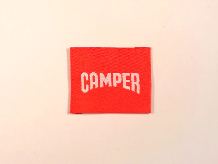 LABEL WOVEN CAMPER