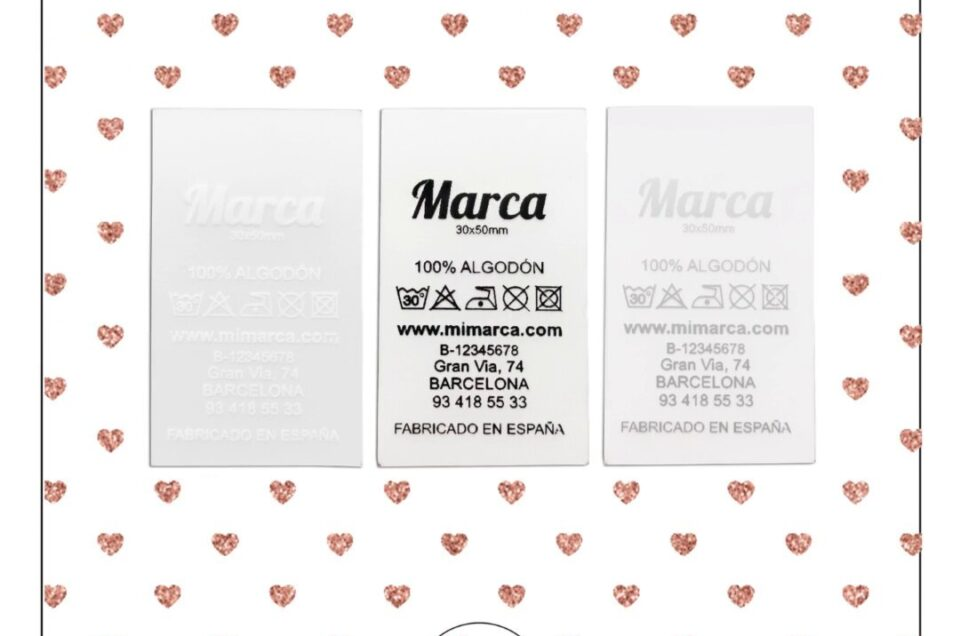 Silicone labels that make you fall in love